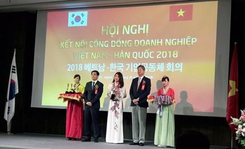 Thuong hieu Chanel Chau du hoi nghi ket noi doanh nghiep Viet - Han hinh anh