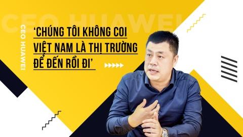 CEO Huawei: 'Chung toi khong coi Viet Nam la thi truong de den roi di' hinh anh 2