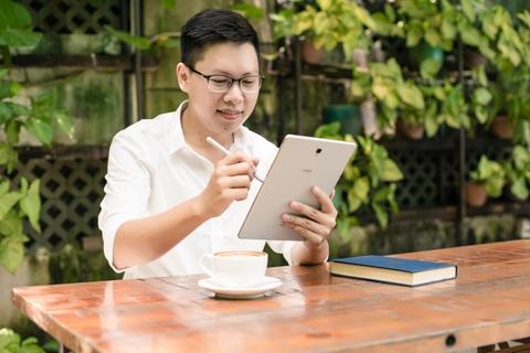 Galaxy Tab S4 - mau tablet thich hop cho nguoi khoi nghiep hinh anh