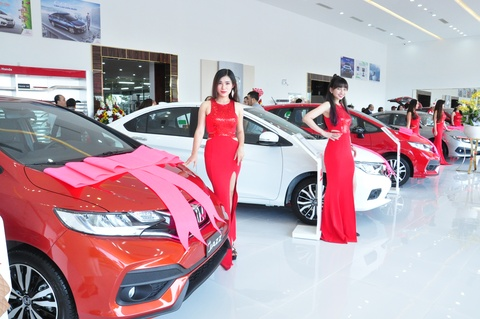 Honda Viet Nam khai truong Honda Oto Binh Thuan - Phan Thiet hinh anh