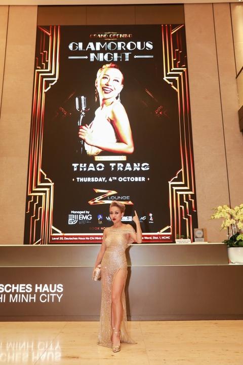 Thao Trang xuat hien goi cam tai su kien khai truong Z lounge hinh anh 3