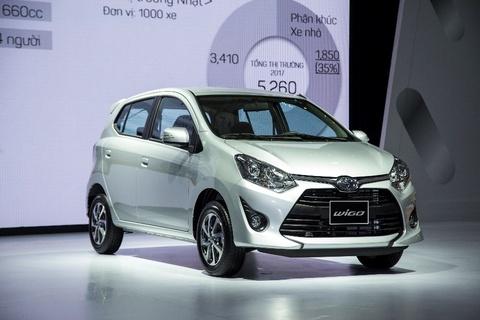 Toyota Viet Nam gioi thieu 3 mau xe moi hinh anh