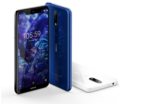 Nokia 6.1 Plus va 5.1 Plus - thiet ke dep, hieu nang tot, gia mem hinh anh