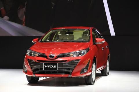 Toyota Việt Nam tặng quà cho khách mua Vios trong tháng 11, 12