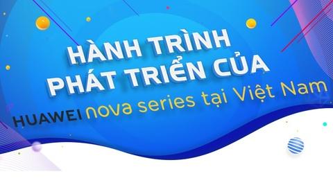 Hành trình phát triển của Huawei Nova series tại Việt Nam