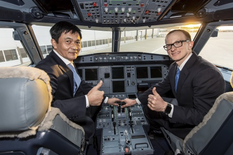 May bay A321neo dau tien gia nhap doi bay Vietnam Airlines hinh anh 10