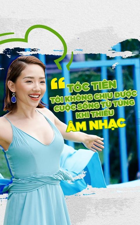Toc Tien: 'Toi khong chiu duoc cuoc song tu tung khi thieu am nhac' hinh anh 1