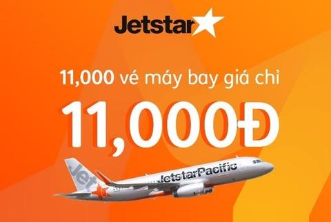 Jetstar ban ve 11.000 dong dip Online Friday 2018 hinh anh