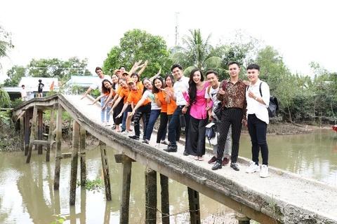 Quỹ Nam Phương xây cầu bê tông đầu tiên tại Hậu Giang
