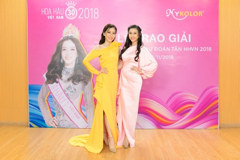 A hau Phuong Nga, Thuy An rang ro tai su kien 'Du doan tan HHVN 2018' hinh anh