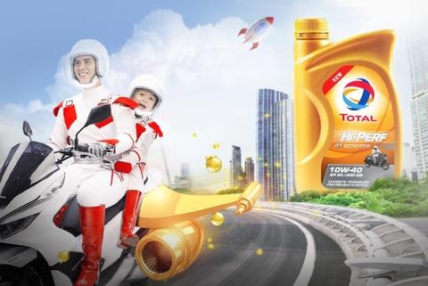 Total ra mắt dầu nhớt mới dành riêng cho xe tay ga tại Việt Nam