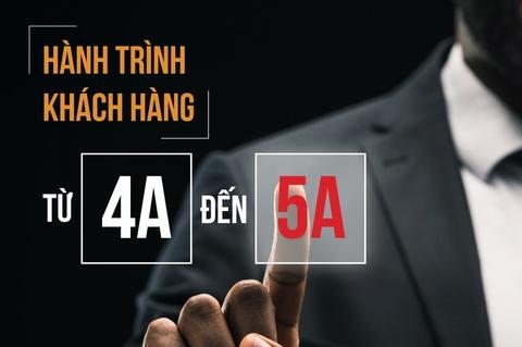 Hanh trinh khach hang - su chuyen dich tu mo hinh 4A sang 5A hinh anh