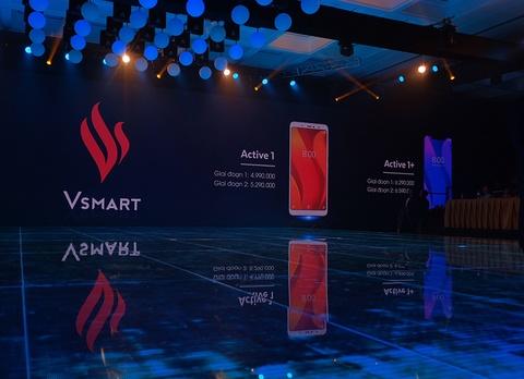 Vsmart ra mắt 4 smartphone, giá từ 2,5 đến 6,3 triệu đồng