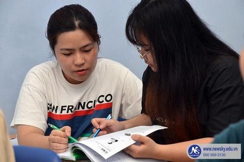 Lớp tiếng Trung giao tiếp tại trung tâm NewSky TP.HCM