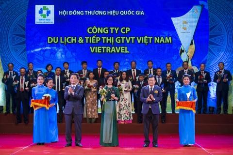 Vietravel lan thu 4 lien tiep dat giai 'Thuong hieu quoc gia' hinh anh