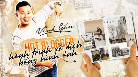 Vinh Gau - hot blogger viet hanh trinh xe dich bang hinh anh hinh anh 2