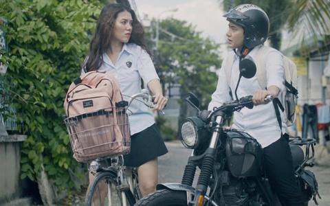 Du Khanh Vu 'bat ca 2 tay' trong series 'Tho san hoc duong' hinh anh