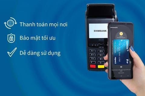 Eximbank trien khai thanh toan bang Samsung Pay cho the V-Top hinh anh