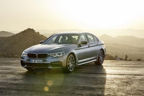 BMW 5 Series moi sap ra mat tai Viet Nam hinh anh