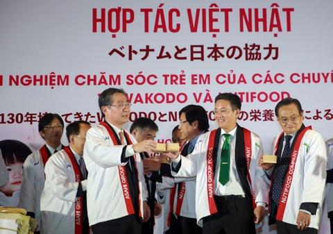 Dai gia thuc pham Nhat mo lien doanh tham nhap Viet Nam hinh anh
