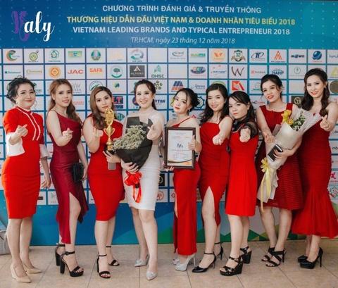 My pham Haly vao top 100 thuong hieu dan dau Viet Nam hinh anh