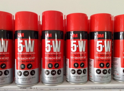 'Một lần xịt, 5 lợi ích' với dầu bảo dưỡng đa năng 5-W