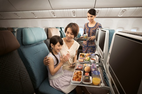 Singapore Airlines uu dai gia ve dip xuan he 2019 hinh anh