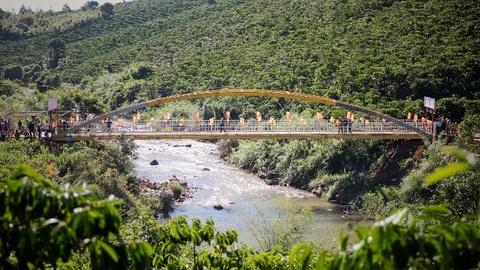 Khánh thành cầu Khang An trị giá 1,6 tỷ đồng cho người dân Lâm Đồng