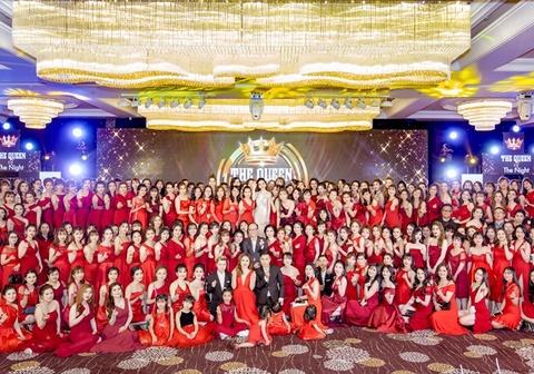 Gần 1.000 khách tham dự sự kiện kỷ 2 năm thành lập mỹ phẩm Queenie