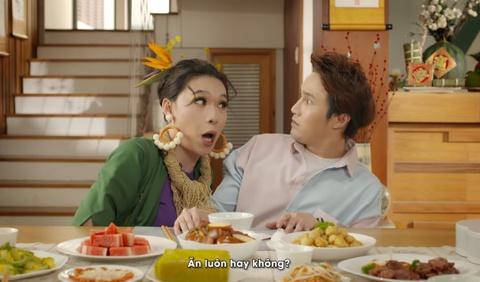 Video - Huynh Lap, Quang Trung ra mat MV parody 'Bua an' hinh anh