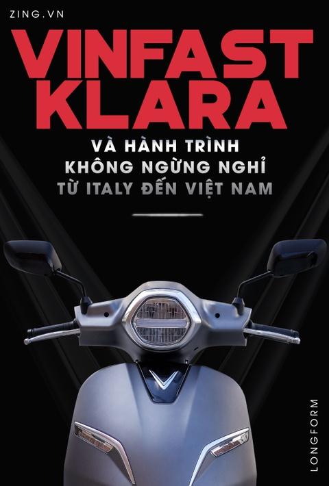 VinFast Klara va hanh trinh khong ngung nghi tu Italy den Viet Nam hinh anh 1