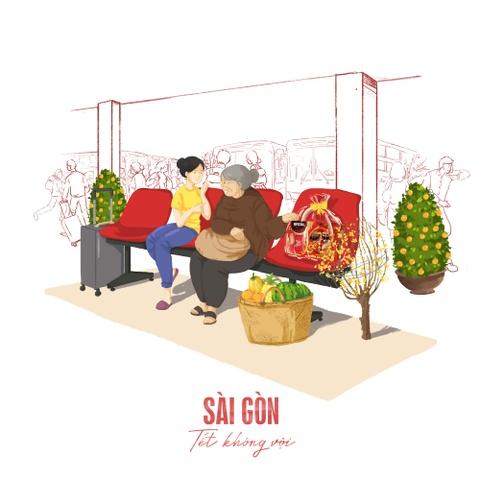Tet 'khong voi' qua bo anh cua Phan Anh Esheep va Maxk Nguyen hinh anh 9
