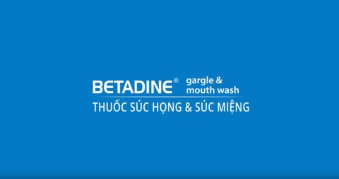 Video - Thuoc suc mieng Betadine hinh anh