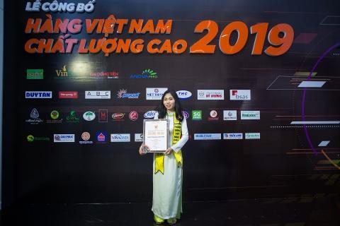 Nhựa Long Thành đạt danh hiệu Hàng Việt Nam chất lượng cao 2019