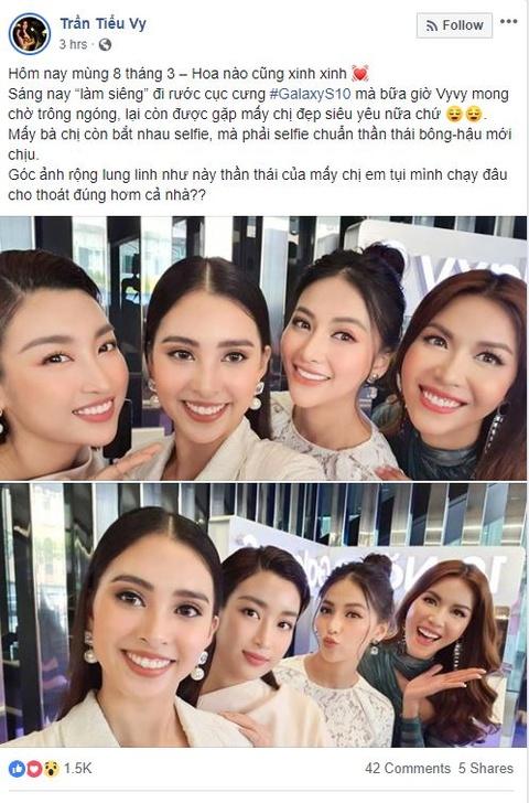 My Linh, Tieu Vy bat ngo di mua Galaxy S10 trong ngay mo ban tai VN hinh anh 12