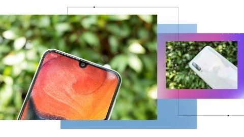 Galaxy A50 - lan gio moi cua nhom di dong tam trung o Viet Nam hinh anh 5