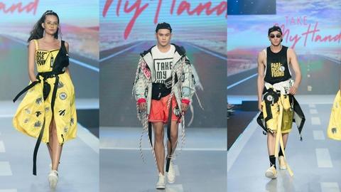 Fashion show 'Take my hand' an tuong nho thong diep bao ve moi truong hinh anh 1