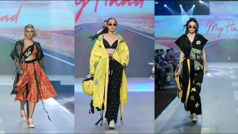 Fashion show 'Take my hand' an tuong nho thong diep bao ve moi truong hinh anh 2