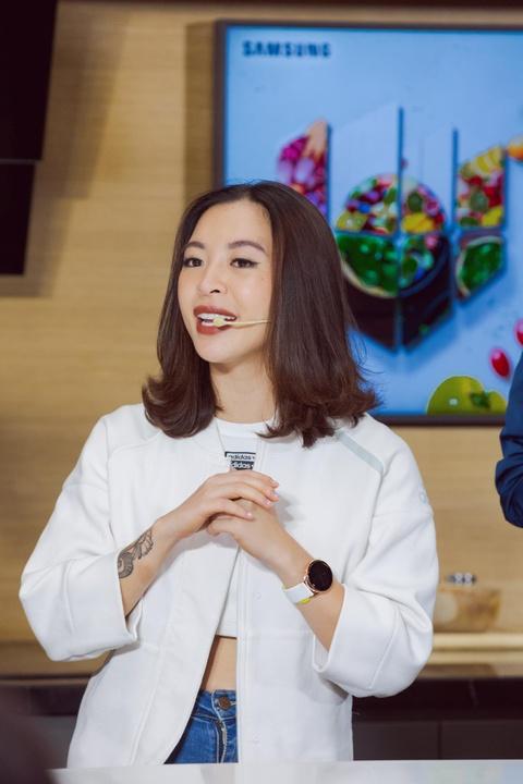 Hana Giang Anh: 'Ban chon an ngon hay dang ngon?' hinh anh 2