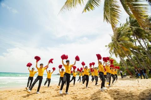 Nhung man flashmob an tuong cua top 16 doi thi 'Song tuoi tre' 2019 hinh anh 7