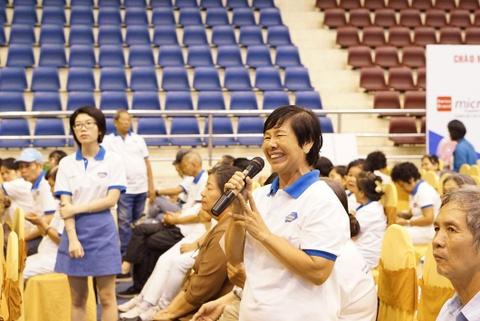 Tư vấn dinh dưỡng cho hơn 1.000 bậc cao niên nhân Ngày người cao tuổi