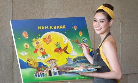 Nam A Bank to chuc Trung thu cho tre em co hoan canh kho khan hinh anh