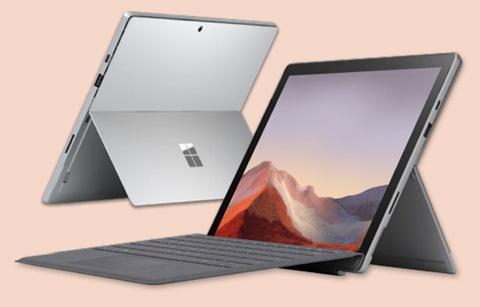 FPT Shop uu dai '1 doi 1' khi dat truoc Microsoft Surface Pro 7 hinh anh