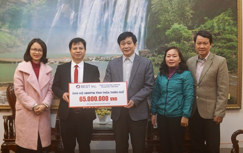 BEST Inc. mang 'Tet am' den nguoi dan mien Trung hinh anh