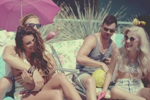 Video clip 'On My Way' cua Lea Michele hinh anh