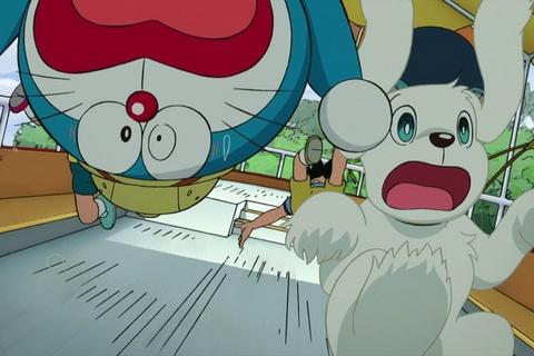 Trailer phim 'Doraemon: Nobita tham hiem vung dat moi' hinh anh