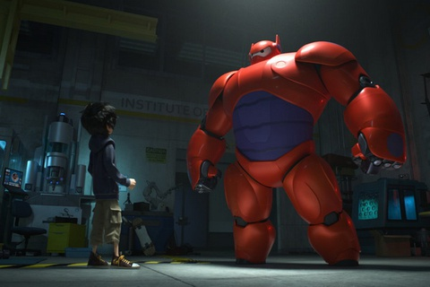 Trailer bo phim 'Biet doi Big Hero 6' hinh anh