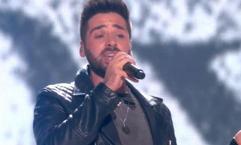Phan thi dem chung ket X Factor nuoc Anh 2014 cua Ben Haenow hinh anh