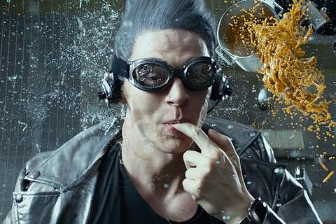 Quicksilver lai co co hoi tro tai trong phim 'X-Men' moi hinh anh