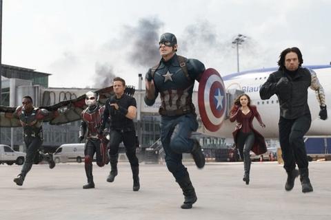 'Captain America: Civil War' thieu chay phong ve toan cau hinh anh